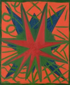 Painting by Stewart  Hitch, Schenevus, 36 x 30 in, oil on canvas,1982