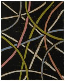 Painting, Ætforan, oil on canvas, 75 x 60 cm, Chris Baker